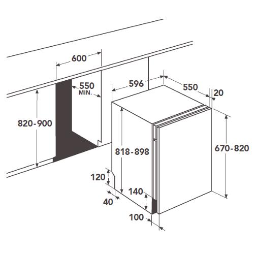 lst aeg f99705vi1p. Black Bedroom Furniture Sets. Home Design Ideas